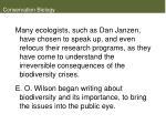conservation biology13
