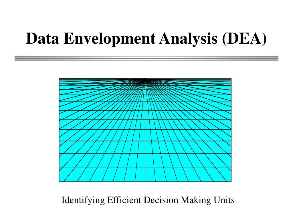 data envelopment analysis dea l.