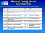 national quality forum endorsement25