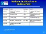 national quality forum endorsement27