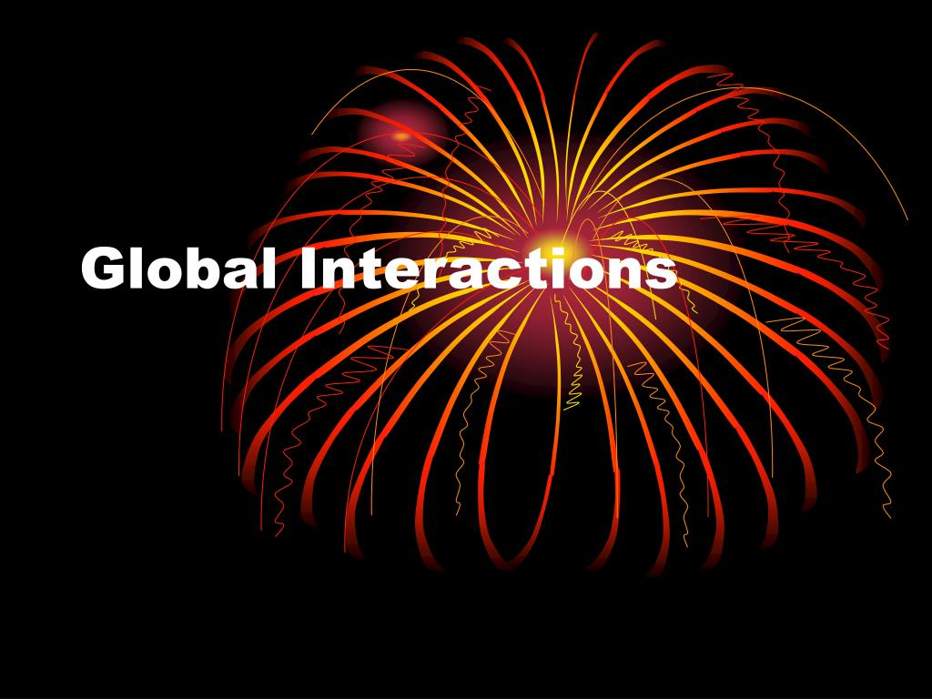 global interactions l.