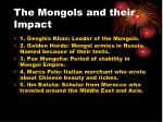 the mongols and their impact