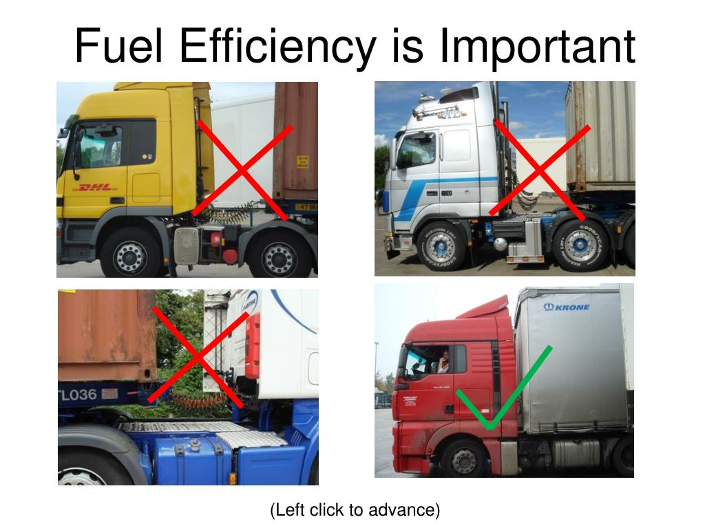 Fuel Efficiency is Important
