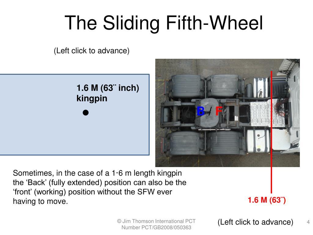 The Sliding Fifth-Wheel