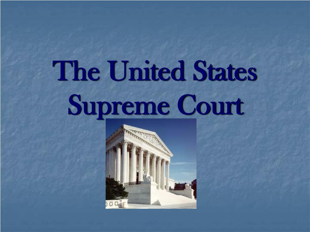 the united states supreme court l.