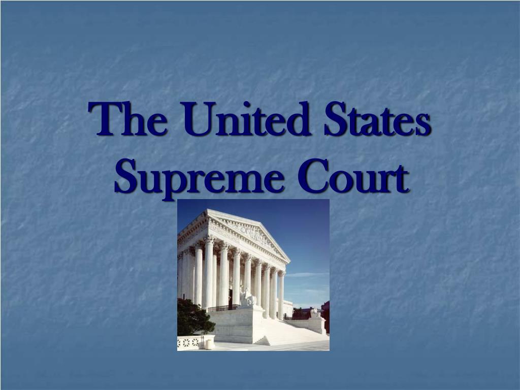 the united states supreme court l.