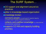 the surf system
