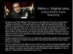 atkins v virginia 2002 justice antonin scalia dissenting