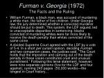 furman v georgia 1972 the facts and the ruling