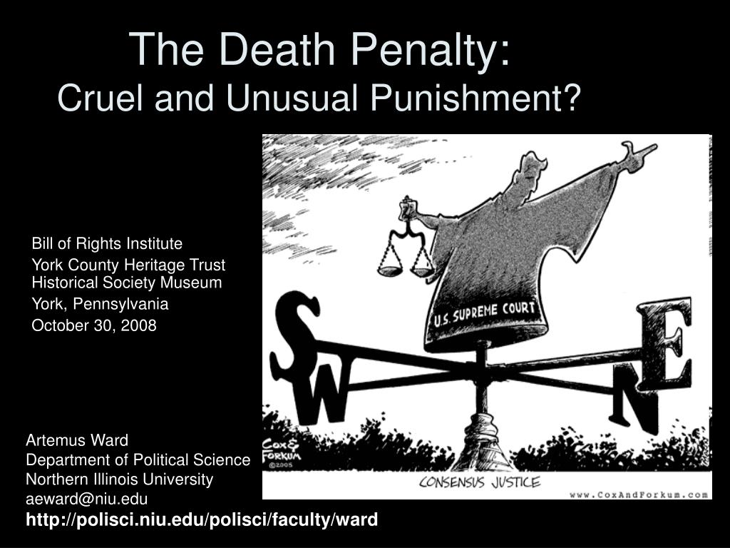 the death penalty cruel and unusual punishment l.