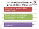 la competitividad basada en potencialidades end genas