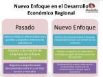 nuevo enfoque en el desarrollo econ mico regional