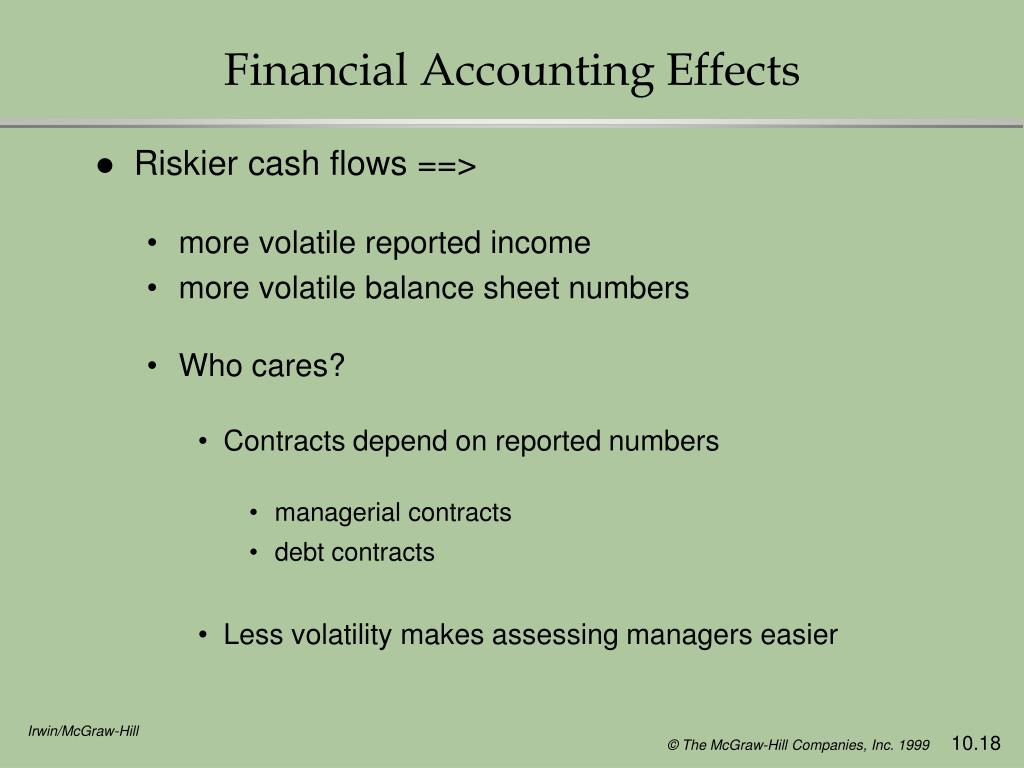 Financial Accounting Effects