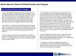 north america recent political events and changes