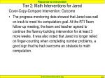 tier 2 math interventions for jared