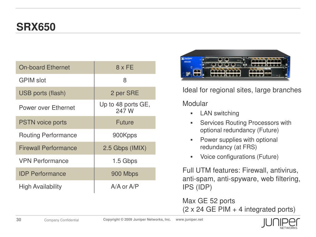 PPT - SRX Product Presentation PowerPoint Presentation - ID