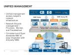 unified management
