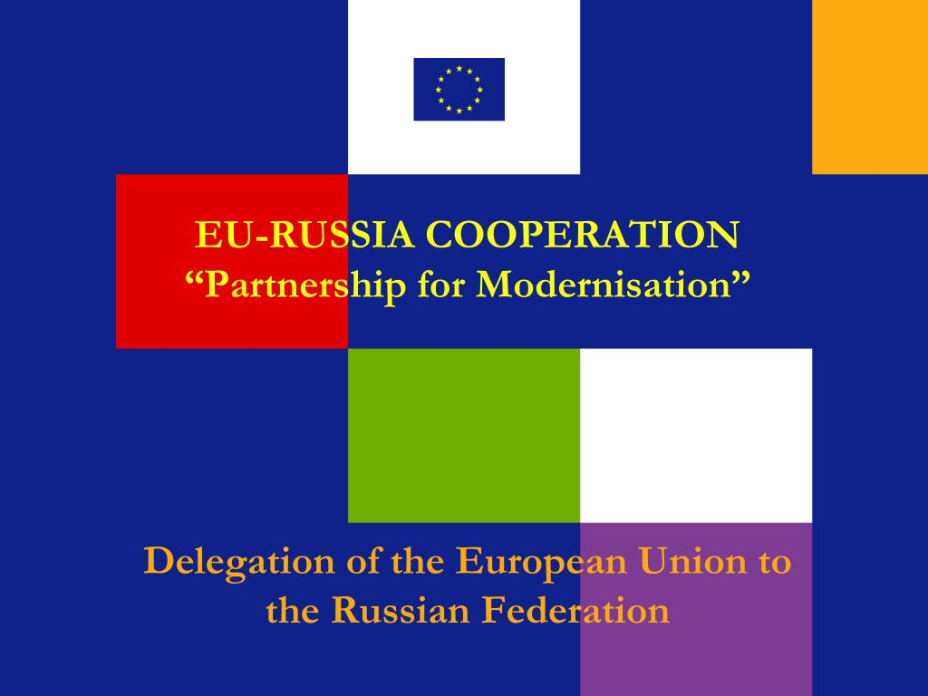 eu russia cooperation partnership for modernisation l.
