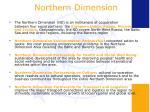 northern dimension