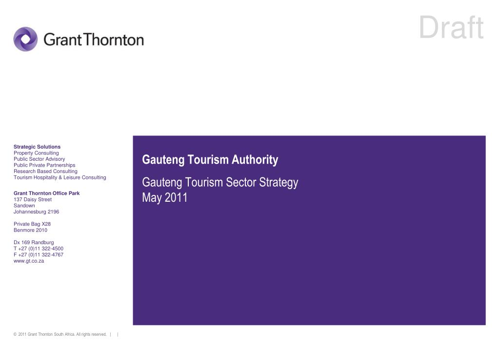 gauteng tourism authority l.