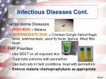 infectious diseases cont