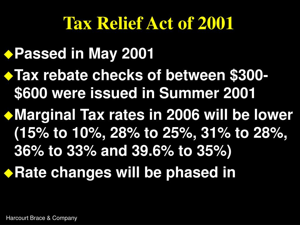 Tax Relief Act of 2001