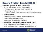 general aviation trends 2000 07