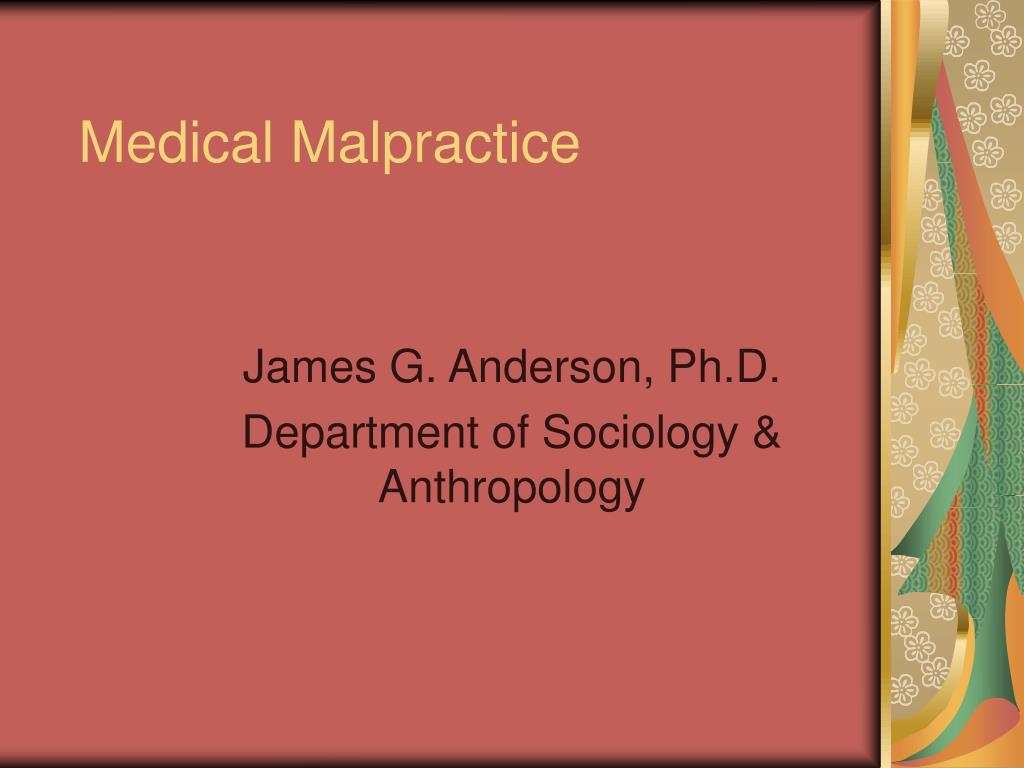 medical malpractice l.