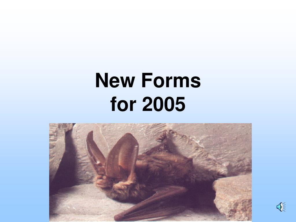 New Forms