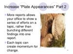 increase plate appearances part 2