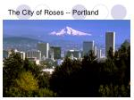 the city of roses portland