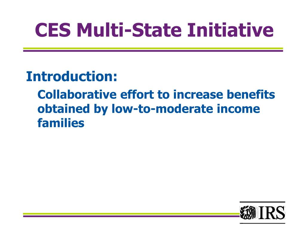 ces multi state initiative l.