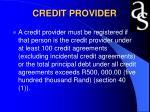 credit provider23