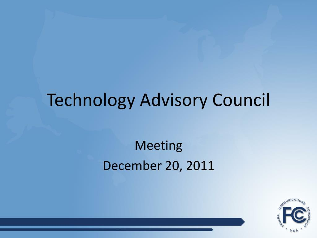 technology advisory council l.