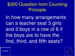200 question from counting principle