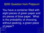 200 question from potpourri