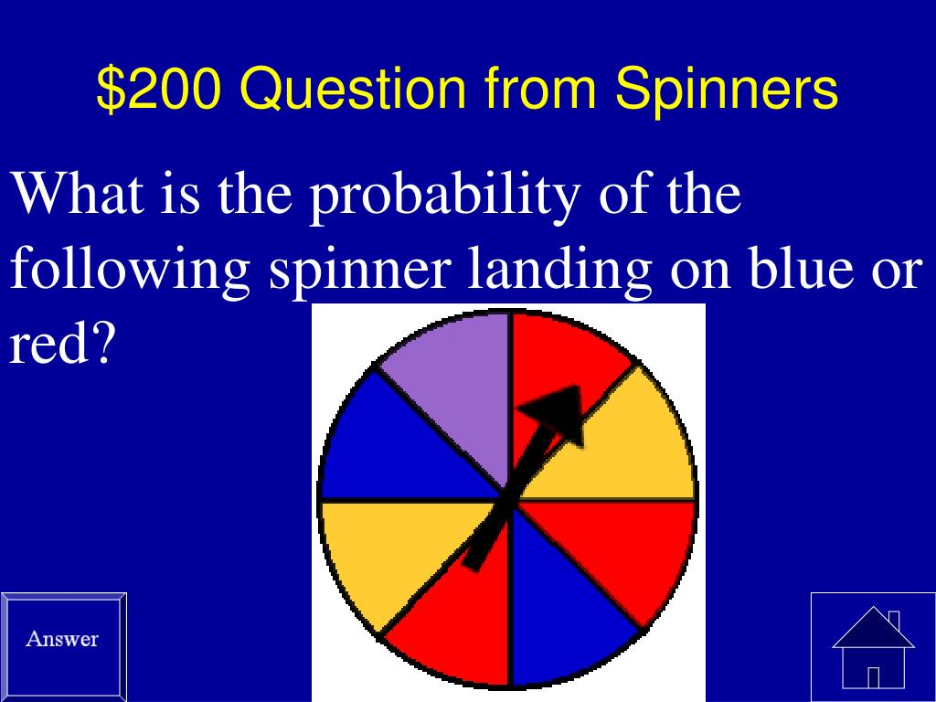 $200 Question from Spinners