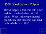 300 question from potpourri