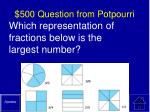 500 question from potpourri