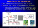 ir microscopy and spectroscopy