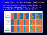 ir microscopy polymer chemistry applications20