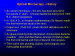 optical microscopy history