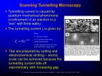 scanning tunnelling microscopy