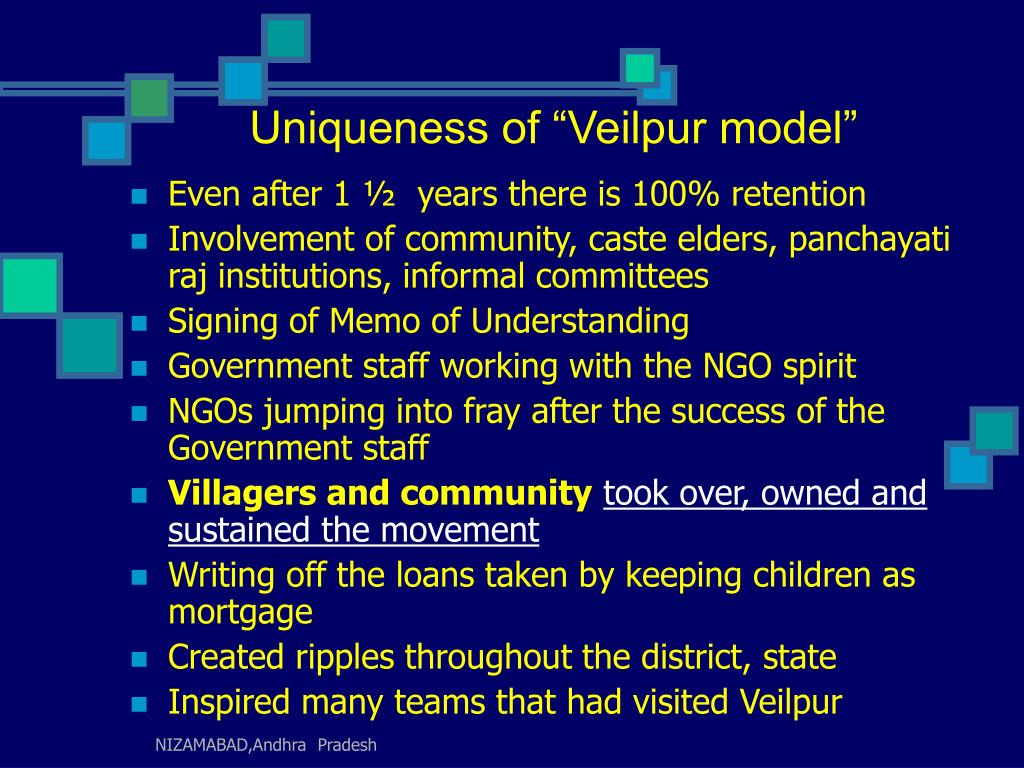 "Uniqueness of ""Veilpur model"""