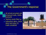 the government s response