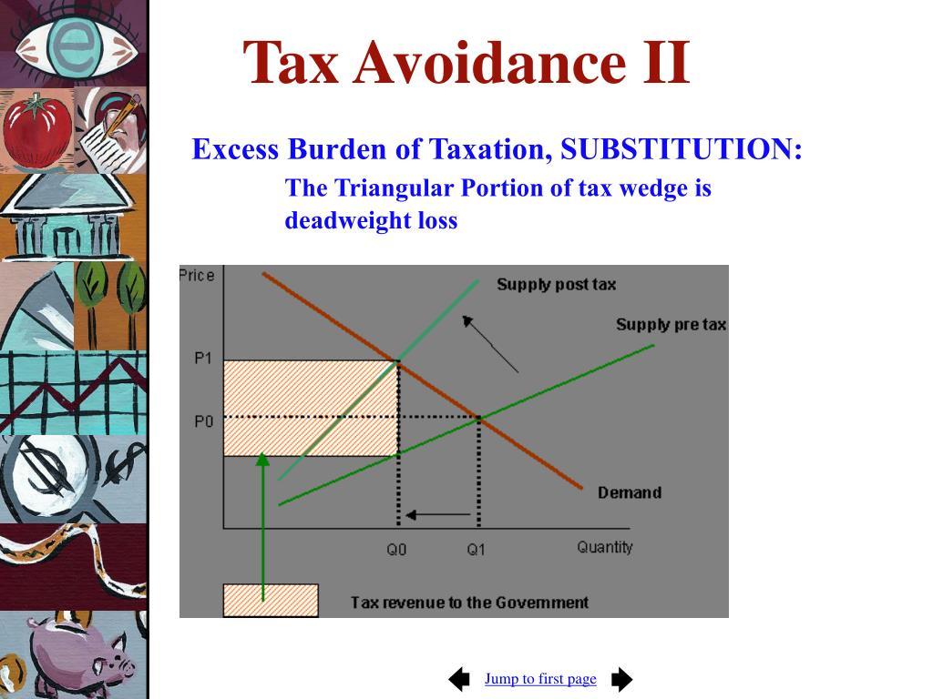 Tax Avoidance II