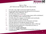 top 12 tips for universal design in the classroom