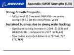 appendix swot strengths 1 3
