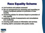 race equality scheme