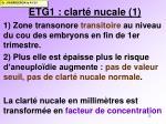 etg1 clart nucale 1
